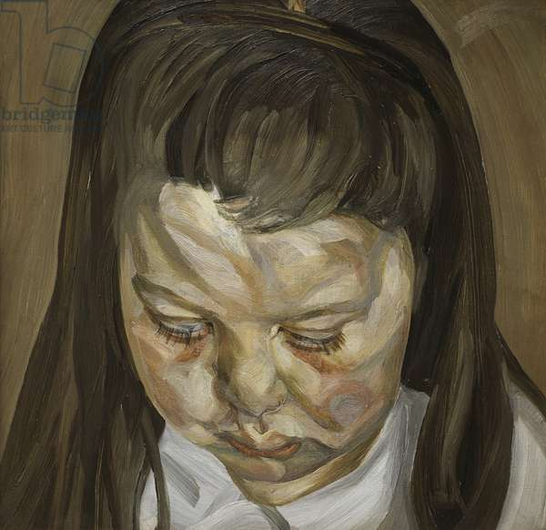 Head of a Young Girl, 1960 (oil on canvas)