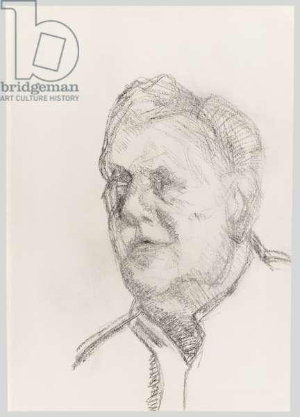 John Richardson, c.1998 (charcoal on paper)