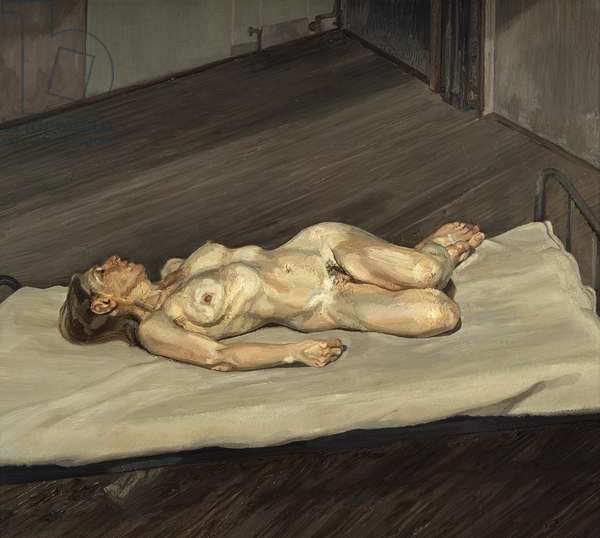 Naked Woman, 1988 (oil on canvas)