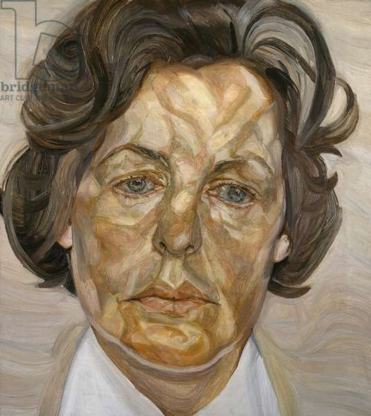 Woman in a White Shirt, 1956-57 (oil on canvas)