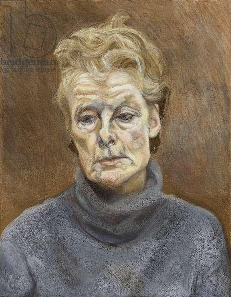 Portrait of a Woman, 1990-91 (pastel on paper)