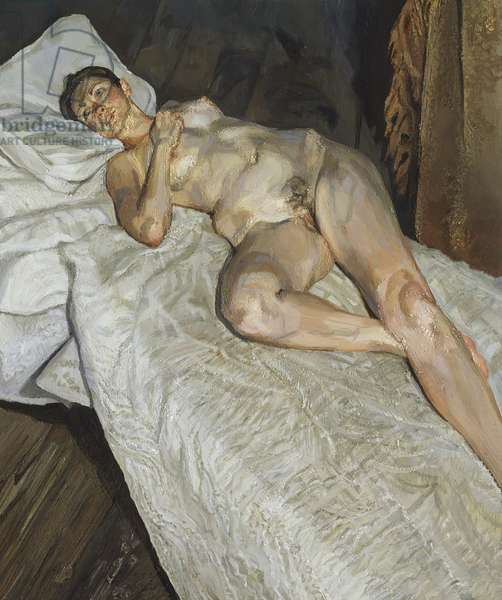 Naked Portrait, 2004 (oil on canvas)