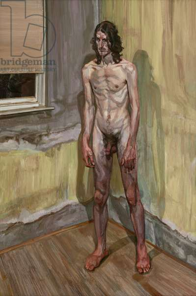 Freddy Standing, 2001-01 (oil on canvas)