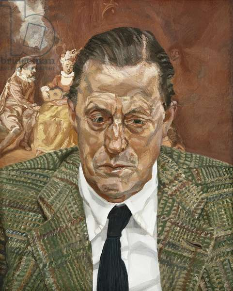 Portrait of a Man, 1981-82 (oil on canvas)