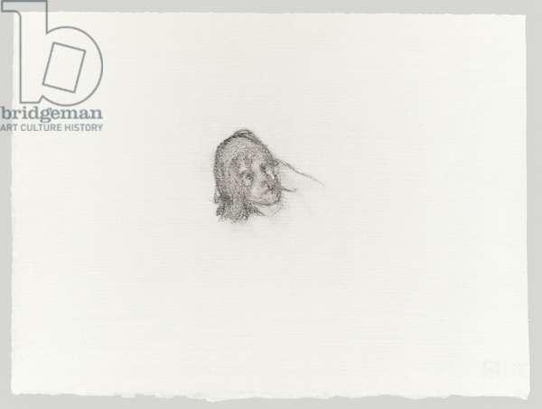 Bella (2), 1980s (pencil on paper)