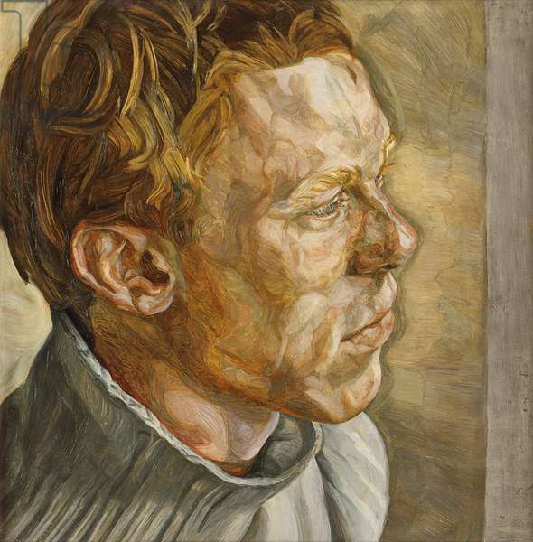 Red Haired Man, Portrait I, 1960-61 (oil on canvas)