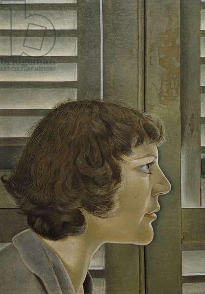 Portrait of Kitty, 1948-49 (oil on board)