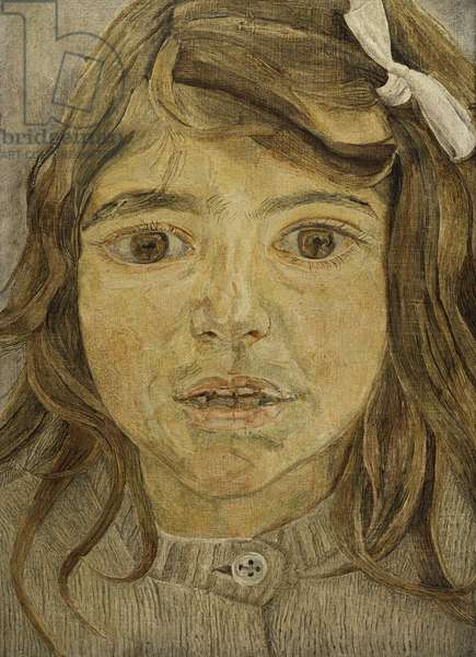 Head of a Child, c.1954 (oil on canvas)