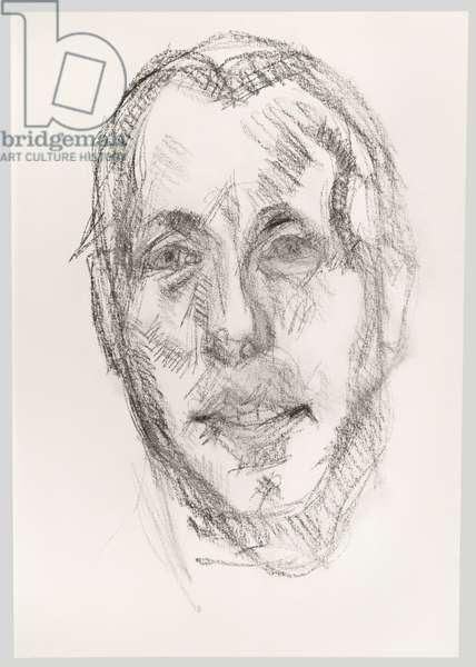 David Dawson, c.1998 (charcoal on paper)