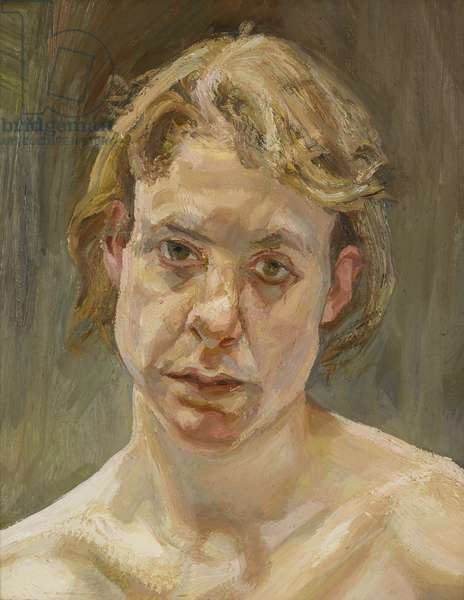 Head of Naked Girl, 1999 (oil on canvas)