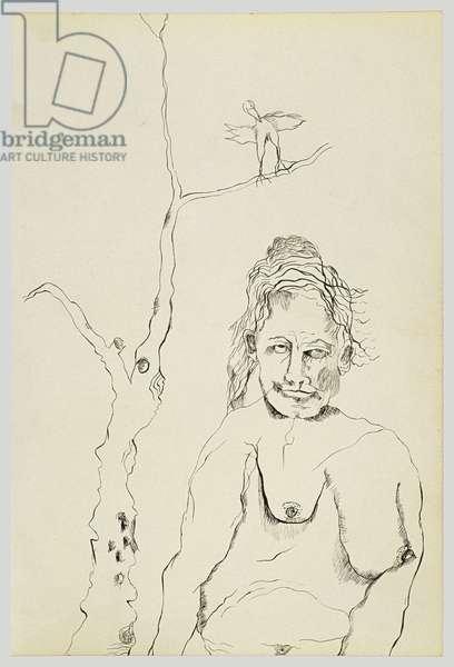 Metamorphosis (part 1), 1940 (ink on paper)