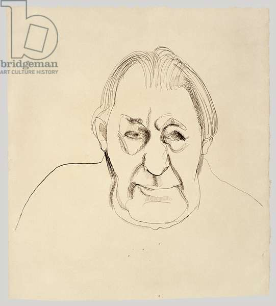The Painter's Father, 1965-66 (ink on paper)