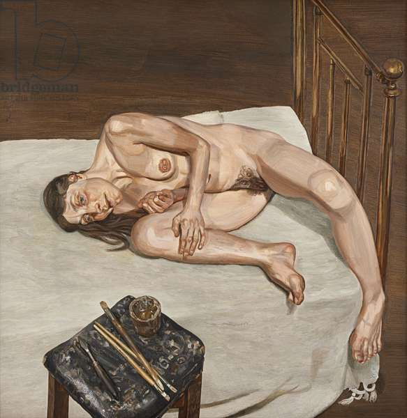 Naked Portrait, 1972-73 (oil on canvas)