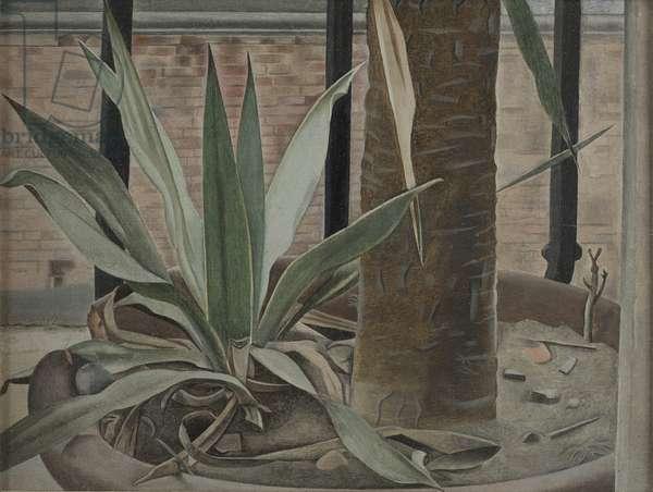 Balcony Still Life, 1951 (oil on canvas)