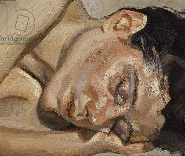 Woman Sleeping, 2002 (oil on canvas)