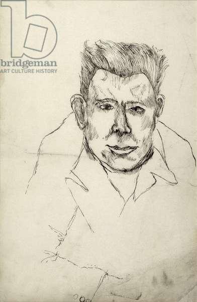 Tony Hindman, 1941 (pen on paper)