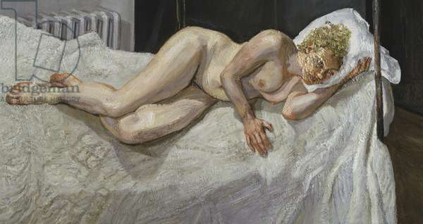 Ria, Naked Portrait, 2006-07 (oil on canvas)