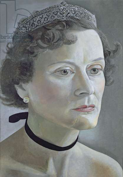 Portrait of Mrs Ian Fleming, 1950 (oil on canvas)
