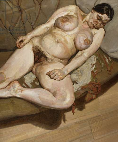 Naked Portrait, 1980-81 (oil on canvas)