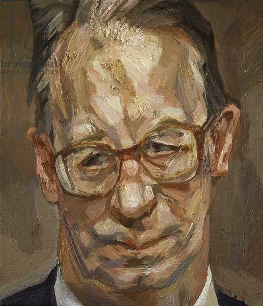 Robert Fellowes, 1999 (oil on canvas)