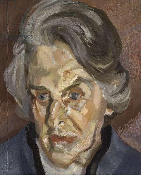 Aline, 2000 (oil on canvas)