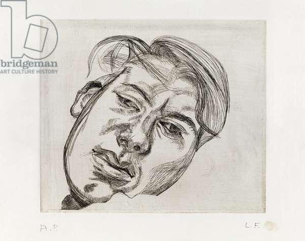 Bella, 1982 (etching)