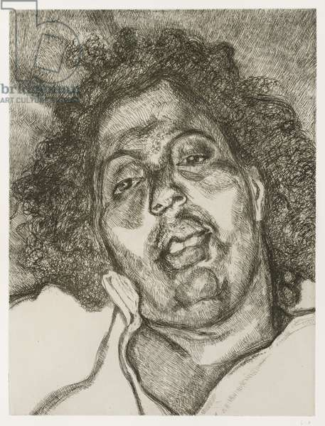 Solicitor's Head, 2003 (etching)