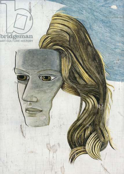 Head of a Girl, 1945 (oil on panel)