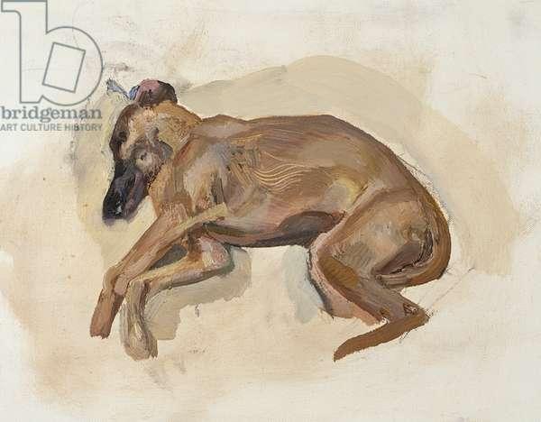 Pluto, 1988 (oil on canvas)