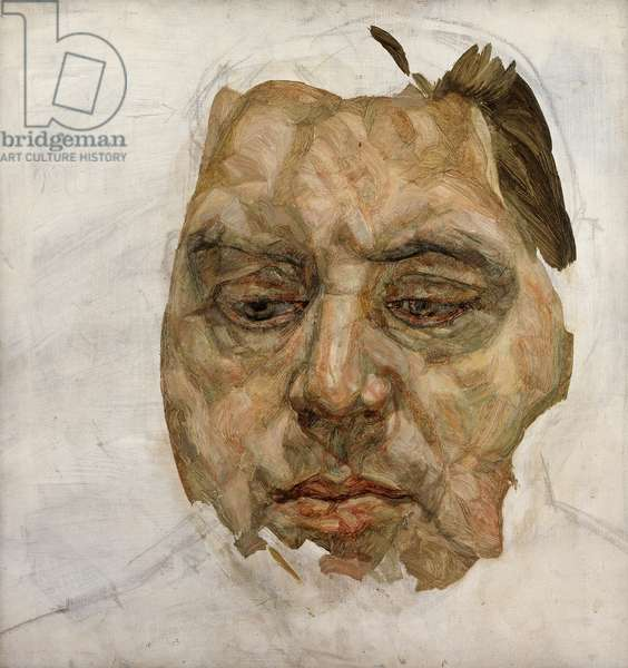 Francis Bacon, 1956-57 (oil & charcoal on canvas)
