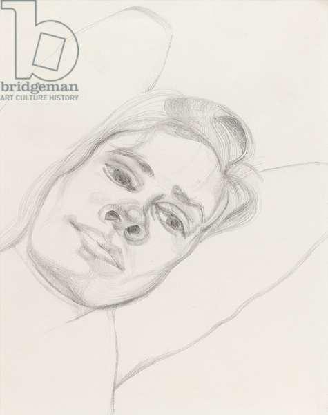 Alice, 1974 (pencil on paper)