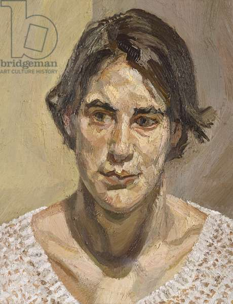 Head of Esther, 1992 (oil on canvas)