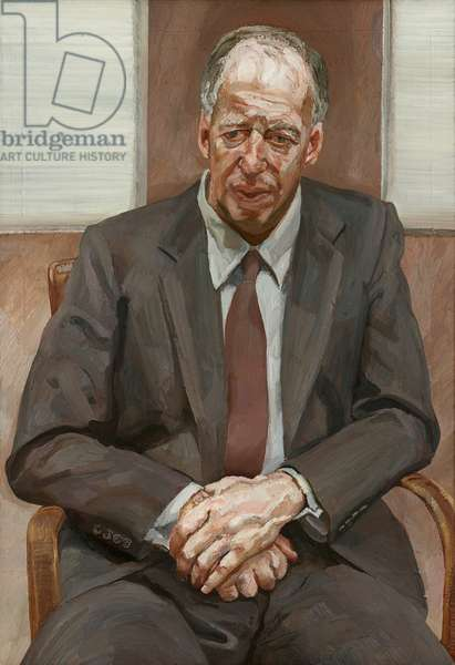 Man in a Chair, 1989 (oil on canvas)