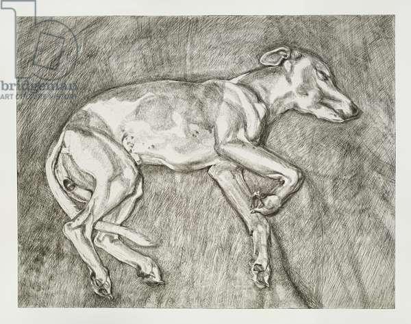 Eli, 2002 (etching)