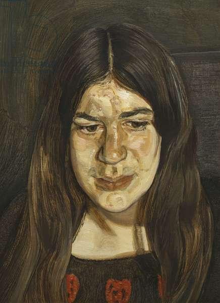 Annabel, 1972 (oil on canvas)
