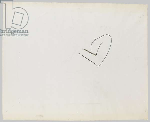 Drawing of an Arm, c.1973 (ink & gouache on paper)