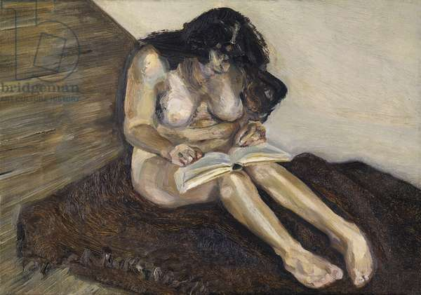 Annie Reading, 1969 (oil on canvas)