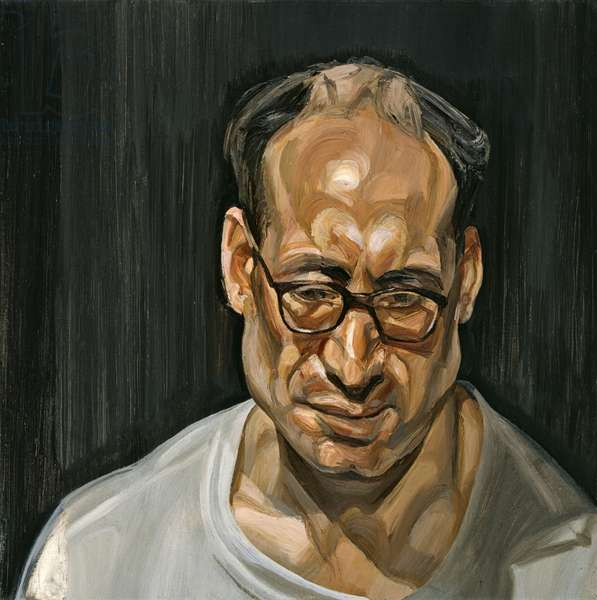 Harry Diamond, 1970 (oil on canvas)