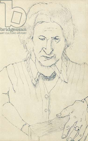 The Painter's Mother, c.1940 (ink on paper)