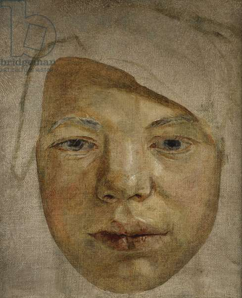 Portrait of a Youth - Fragment, c.1956 (oil on canvas)