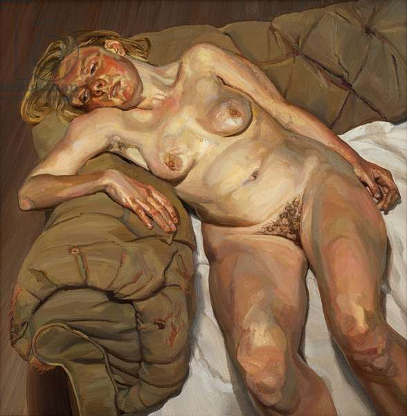 Blond Girl, Night Portrait, 1980-85 (oil on canvas)