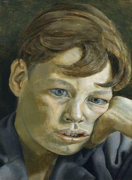 Boy's Head, 1952 (oil on canvas)