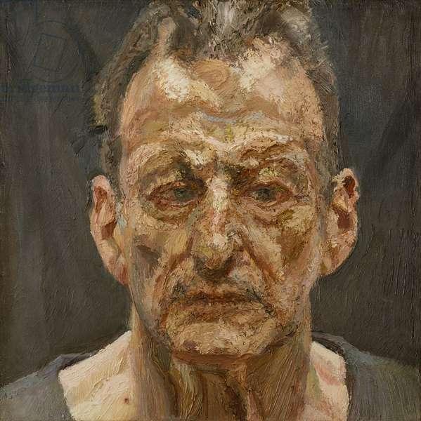 Self Portrait, 1990-91 (oil on canvas)