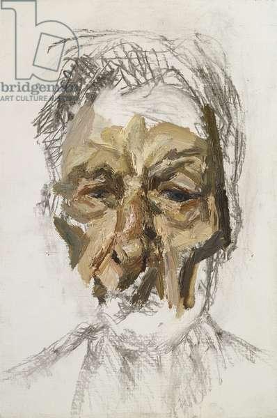 Self Portrait, Fragment, 2004 (oil on canvas)