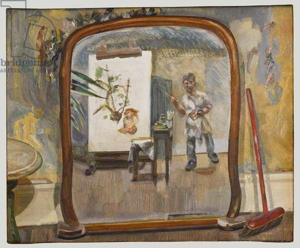 Small Interior, c.1968-72 (oil on canvas)