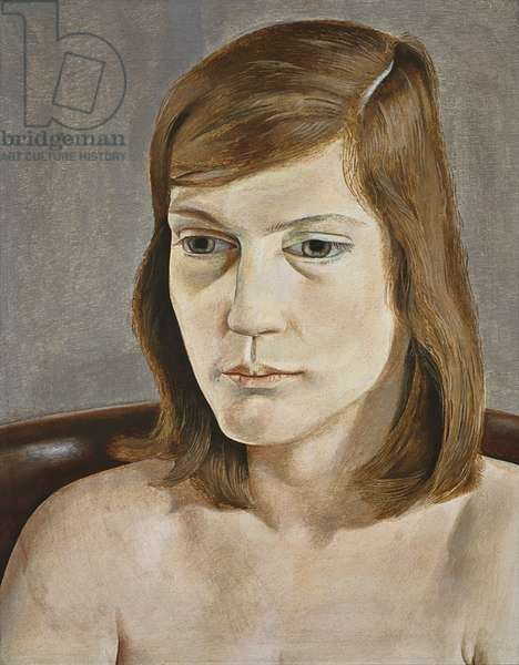 Portrait of a Girl, 1949 (oil on copper)