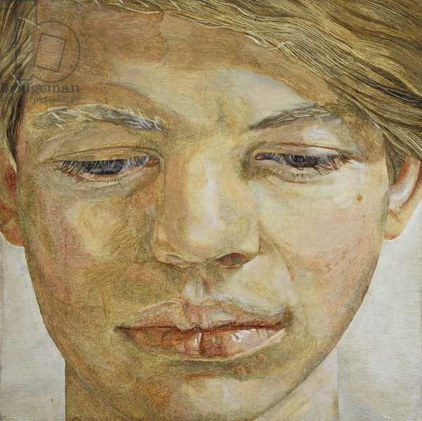 Head of a Boy, 1956 (oil on canvas)