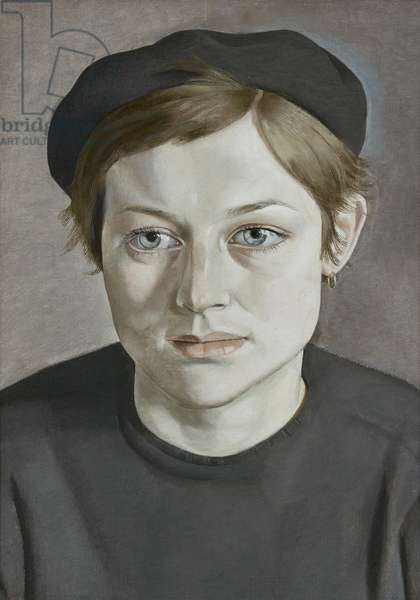 Girl with Beret, 1951-52 (oil on canvas)
