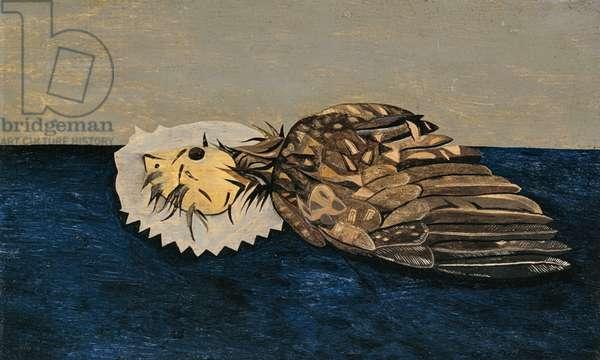 Dead Bird, 1945 (oil on panel)