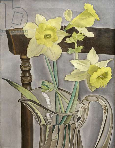 Daffodils and Celery, 1946 (oil on panel)